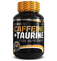 BioTech USA     Caffeine+Taurine 60 caps.