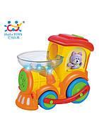 Развивающие и обучающие игрушки «Huile Toys» (958) Паровозик Ту-Ту (звук. эффекты)