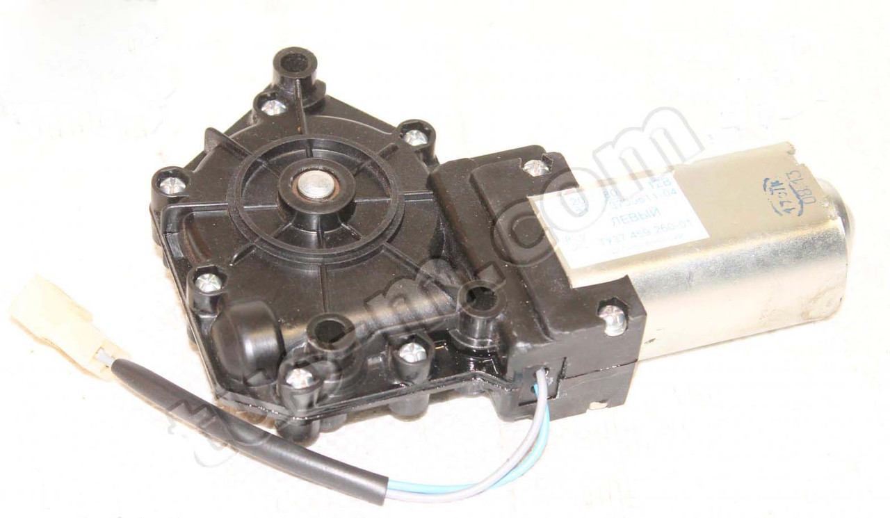 Моторедуктор стеклоподъемника ВАЗ 2109 лев. (пр-во Калуга)