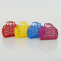 Детская игрушечная корзинка для покупок
