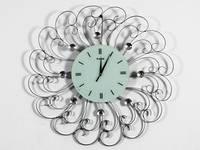 Часы дизайнерские на стену Цветок