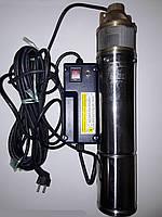 Насос для скважин Euroaqua 4SKm 100 + контрольбокс