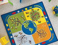 Коврик в детскую 133х133 Confetti FOUR SEASONS MAVI
