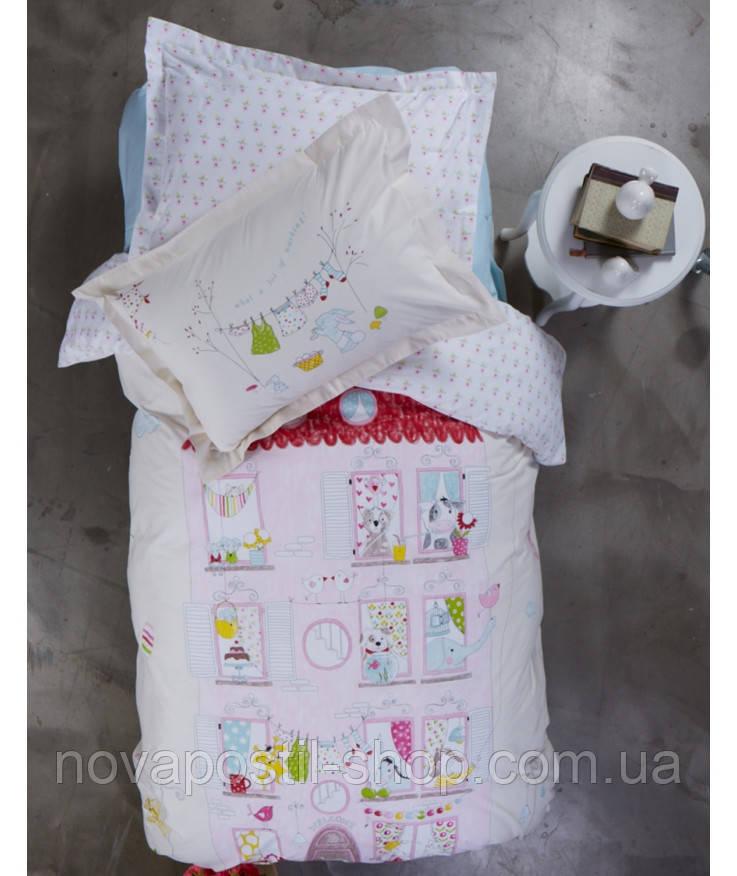 Комплект постельного белья KARACA HOME FANYA PINK