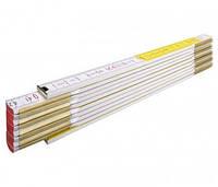 Метр складной Stabila 600 деревянный, 2 м