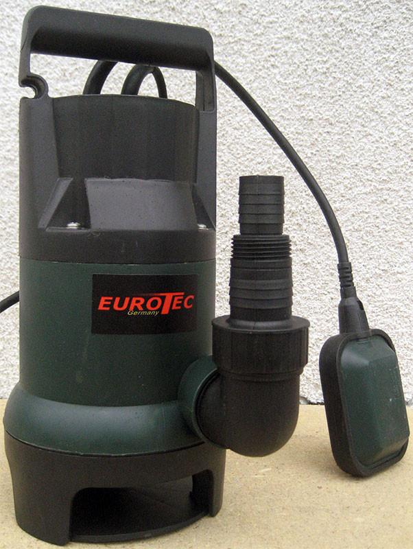 Насос для чистой воды пластиковый с поплавком Eurotec PU 202 Auto, общий вид