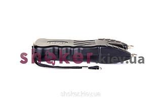 Электрошокер Оса-916 удобный формфактор черный цвет  (електрошокер в украине) (shoker)