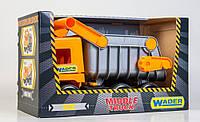 """Самосвал грузовик  Wader  - детская машинка серии """"Middle truck City"""""""