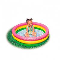 Бассейн детский надувной Красочный Intex 58924