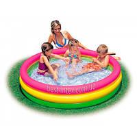 Intex 57412 (114х25 см.) Детский надувной бассейн
