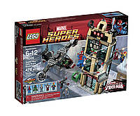 Lego Super Heroes Человек-паук схватка у здания Дэйли Багл