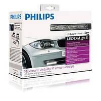 Светодиодные фары дневного света Philips LED Day Time Lights 8 (12824WLEDX1)