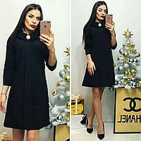 Платье женское, модель 770, черный, фото 1