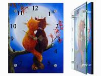 Интерьерные настенные часы Романтика