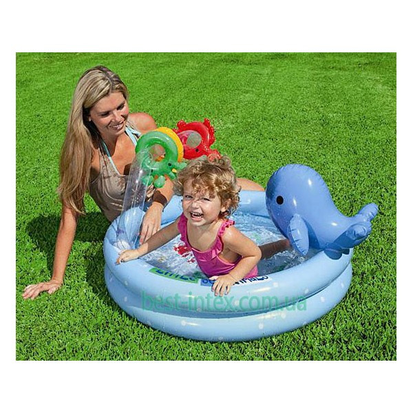 Intex 57400 (90х53 см.) Детский надувной бассейн