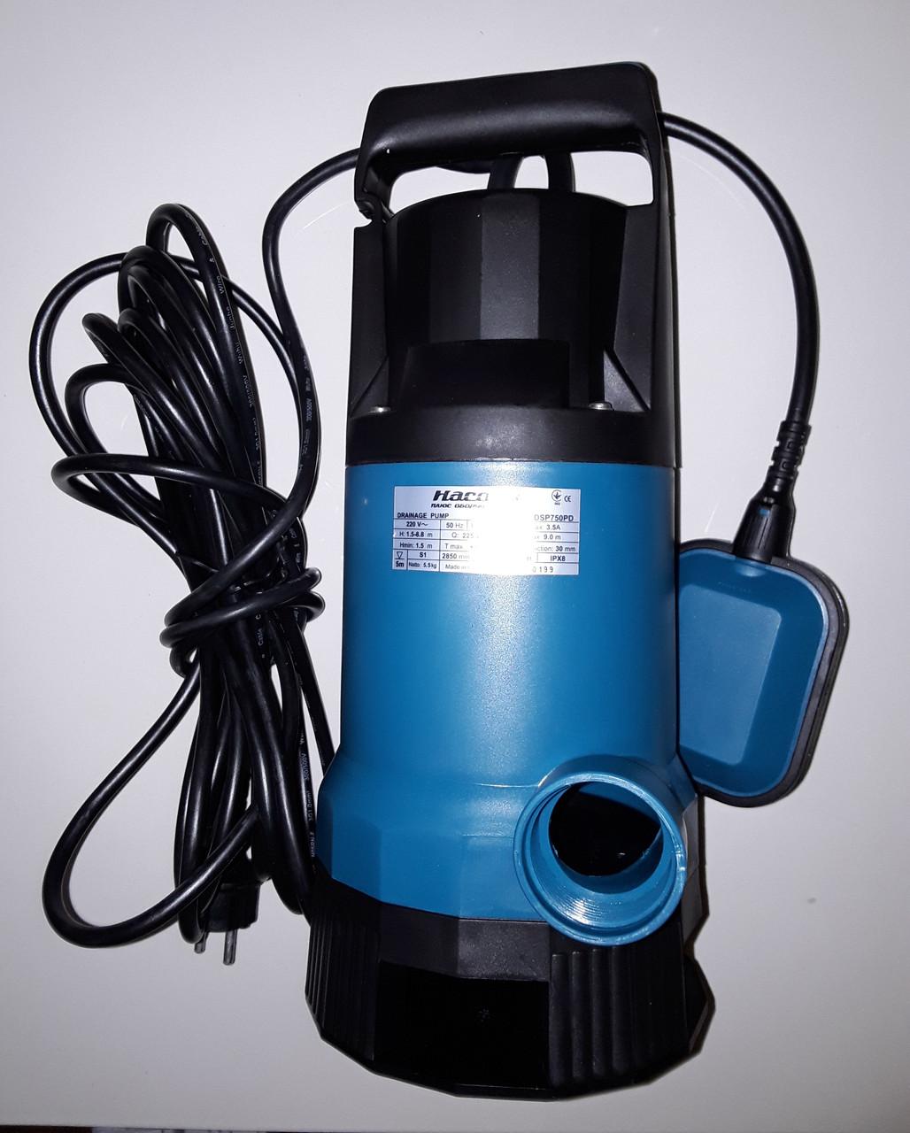 Дренажный насос «Насосы +» DSP 750PD