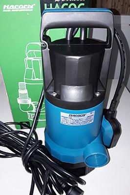 Бытовой дренажный насос «Насосы + Оборудование» DSP 750PD