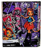 Набор кукол Monster High Fierce Rockers Catty Noir and Toralei Exclusive 2-pack