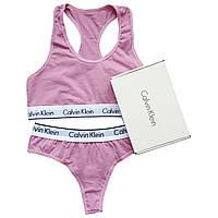 Женский комплект Calvin Klein розовый
