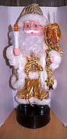 Светильник Музыкальный Санта Клаус, Дед Мороз золотой
