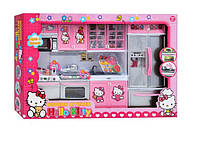 Детская игровая кухня музыкальная для кукол