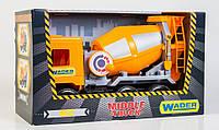 """Бетономешалка  Wader  - детская машинка серии """"Middle truck City"""""""