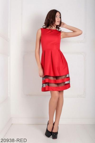 Женское платье Tina 20938-RED