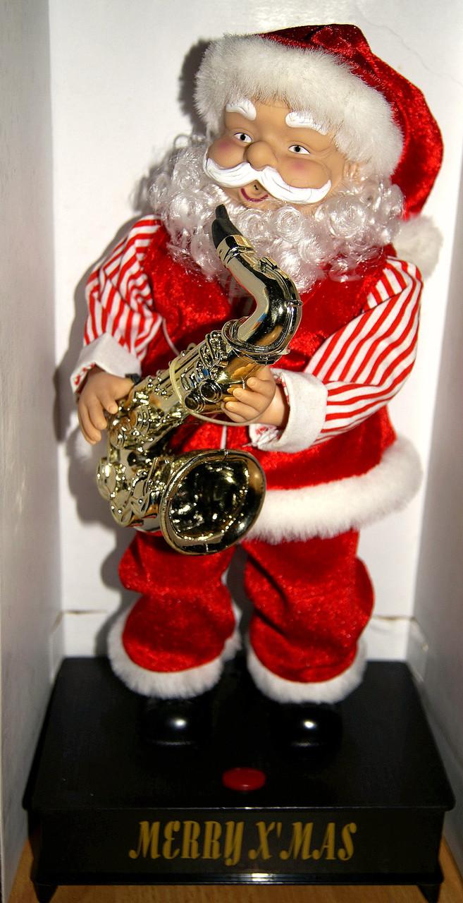 РАСПРОДАЖА!! Хит!! Танцующий Санта!! Играет на Саксофоне!