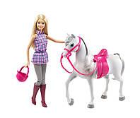 """Набор """"Прогулка верхом"""" кукла Барби и Лошадь"""