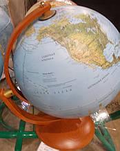 """Італійський рельєфний глобус """"МАКСИМУС"""", діам.. 300 мм, рос."""