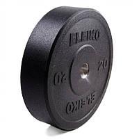 Диск Eleiko амортизирующий XF 20 кг