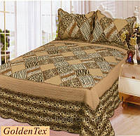 Покрывало 230х250  хлопковое  с наволочками,  GoldenTex