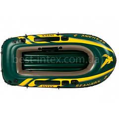 Надувная лодка гребная Intex 68346 (236х114x41 см.) Seahawk 2