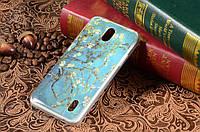Чехол с рисунком для Huawei Ascend Y625 Цвет яблони