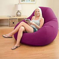 Intex Интекс 68584 велюр-кресло