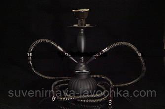 Кальян маленький на 1 трубки ( 26 см ) матовый
