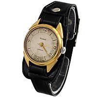 Позолоченные часы Алмаз 18 камней