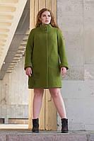 Пальто женское из шерсти демисезоннSergio Cotti Пальто 2-488LШ