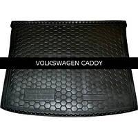 Коврик в багажник Avto Gumm для Volkswagen Caddy 2004-
