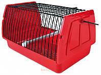 Переноска для птиц красная Trixie (30x18x20 см)