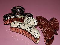 Заколка-краб для волос DIOR, размер L, фото 1