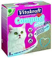 Наполнитель для кошачьего туалета Compact Ultra Plus 8 кг (Витакрафт) Vitakraft