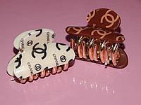 Заколка-краб для волос СHANEL, размер S, фото 1
