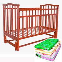 Кроватки, матрасы, комоды
