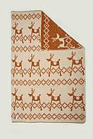 Одеяло шерстяное 100Х140 ЛАПЛАНДИЯ коричневое