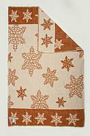 Одеяло шерстяное 100Х140 СНЕГ коричневое