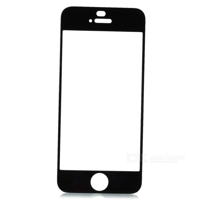 Стекло экрана iPhone 5/ iPhone 5S/ iPhone 5C чёрное