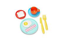 """Игровой набор посуды """"Завтрак"""" для детей от 3 лет (9 предметов) ТМ Kid O 10453"""