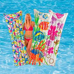 Надувной пляжный матрас Intex 59720 (183x69 см.)