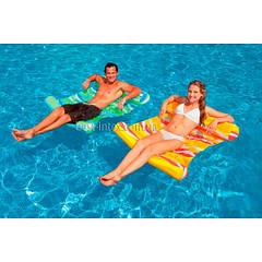 Intex 58834 (137х99 см.) Пляжный надувной матрас - Гамак водный